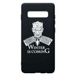 Чехол для Samsung S10+ Winter is coming hodak