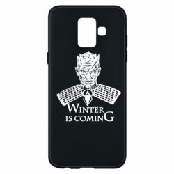 Чехол для Samsung A6 2018 Winter is coming hodak