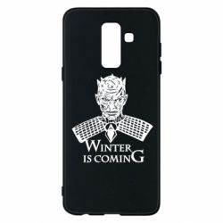Чехол для Samsung A6+ 2018 Winter is coming hodak