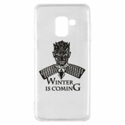 Чехол для Samsung A8 2018 Winter is coming hodak