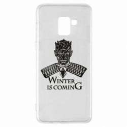 Чохол для Samsung A8+ 2018 Winter is coming hodak