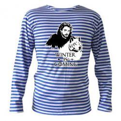 Тільник з довгим рукавом Winter is coming I