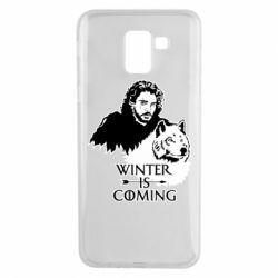 Чохол для Samsung J6 Winter is coming I