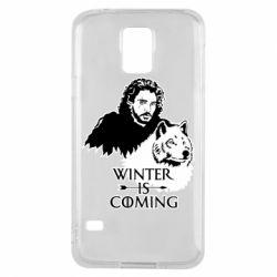 Чохол для Samsung S5 Winter is coming I