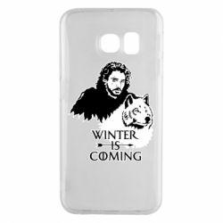 Чохол для Samsung S6 EDGE Winter is coming I