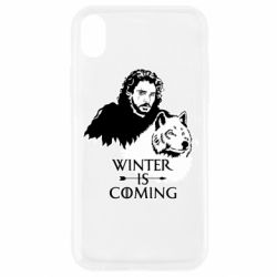 Чохол для iPhone XR Winter is coming I