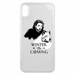 Чохол для iPhone Xs Max Winter is coming I