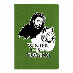 Блокнот А5 Winter is coming I