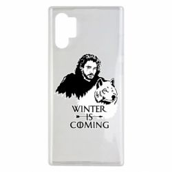Чохол для Samsung Note 10 Plus Winter is coming I