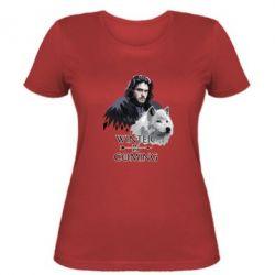 Жіноча футболка Winter is coming I