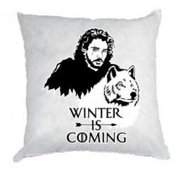 Подушка Winter is coming I