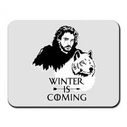 Килимок для миші Winter is coming I
