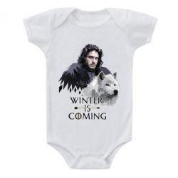 Дитячий бодік Winter is coming I