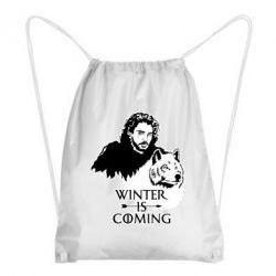Рюкзак-мішок Winter is coming I