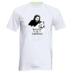 Чоловіча спортивна футболка Winter is coming I