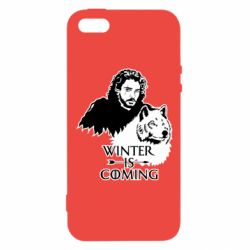 Чохол для iphone 5/5S/SE Winter is coming I