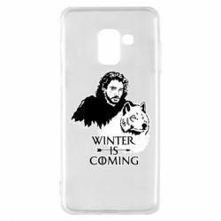 Чохол для Samsung A8 2018 Winter is coming I