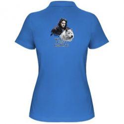 Жіноча футболка поло Winter is coming I