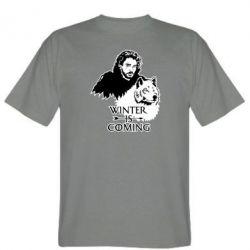 Чоловіча футболка Winter is coming I