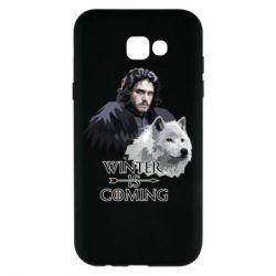 Чохол для Samsung A7 2017 Winter is coming I