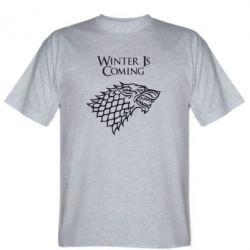 Мужская футболка Winter is coming (Игра престолов) - FatLine