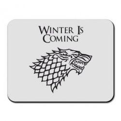 Коврик для мыши Winter is coming (Игра престолов) - FatLine