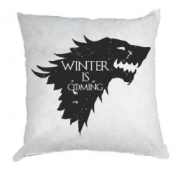 Купить Подушка Winter is coming soon, FatLine
