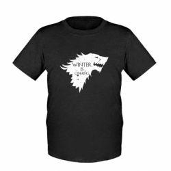 Детская футболка Winter is coming soon