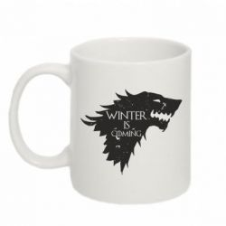 Кружка 320ml Winter is coming soon
