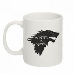 Кружка 320ml Winter is coming soon