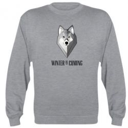 Реглан (свитшот) Winter is coming Wolf