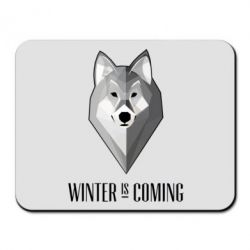 Коврик для мыши Winter is coming Wolf - FatLine