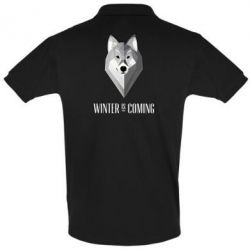 Футболка Поло Winter is coming Wolf - FatLine