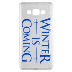 Чехол для Samsung A5 2015 Winter is coming