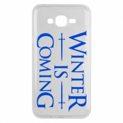 Чехол для Samsung J7 2015 Winter is coming