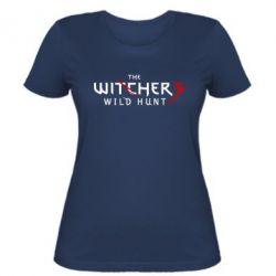 Женская футболка Witcher 3 Wild Hunt - FatLine