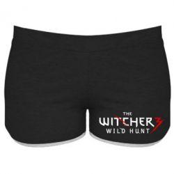 Женские шорты Witcher 3 Wild Hunt - FatLine
