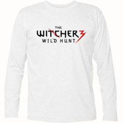 Футболка с длинным рукавом Witcher 3 Wild Hunt - FatLine