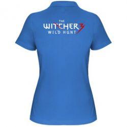 Женская футболка поло Witcher 3 Wild Hunt - FatLine