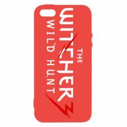 Купить Игры, Чехол для iPhone5/5S/SE Witcher 3 Wild Hunt, FatLine