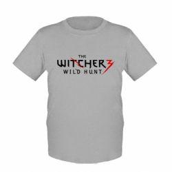 Детская футболка Witcher 3 Wild Hunt - FatLine