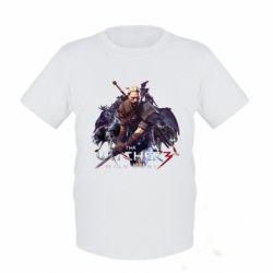 Купить Детская футболка Witcher and the Wolves, FatLine