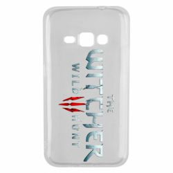 Чехол для Samsung J1 2016 Witcher Logo