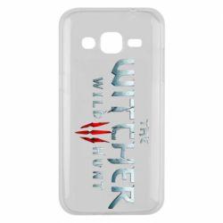 Чехол для Samsung J2 2015 Witcher Logo