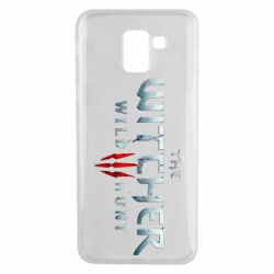 Чехол для Samsung J6 Witcher Logo