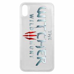 Чехол для iPhone Xs Max Witcher Logo
