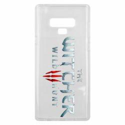 Чехол для Samsung Note 9 Witcher Logo
