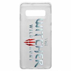 Чехол для Samsung S10+ Witcher Logo