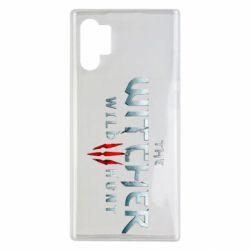 Чехол для Samsung Note 10 Plus Witcher Logo