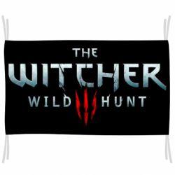 Флаг Witcher Logo